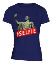 Gaius Julius Caesar Hashtag Selfie Ladies T-Shirt