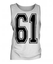 61 Collegiate Mens Vest