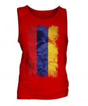 Armenia Grunge Flag Mens Vest