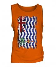 British Indian Ocean Territory Grunge Flag Mens Vest