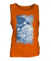 Micronesia Grunge Flag Mens Vest