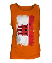 Gibraltar Grunge Flag Mens Vest