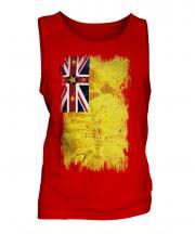 Niue Grunge Flag Mens Vest