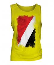 Sealand Grunge Flag Mens Vest
