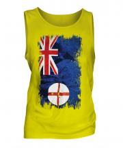 New South Wales Grunge Flag Mens Vest