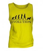 Australian Shepherd Evolution Mens Vest