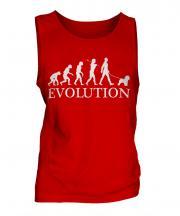 Bichon Frise Evolution Mens Vest