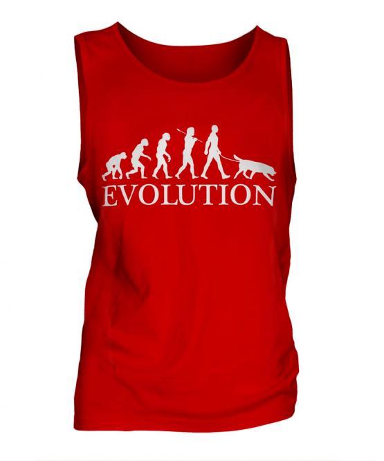 Flat-Coated Retriever Evolution Mens Vest