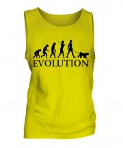 Kerry Blue Terrier Evolution Mens Vest