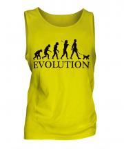 Miniature Poodle Evolution Mens Vest