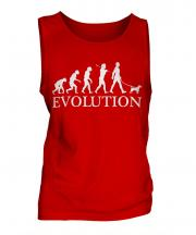 Parson Russell Terrier Evolution Mens Vest