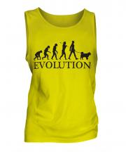 Siberian Husky Evolution Mens Vest