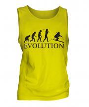 Downhill Skiing Evolution Mens Vest