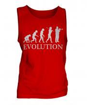 Trumpet Player Evolution Mens Vest