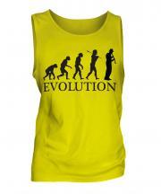 Clarinet Player Evolution Mens Vest