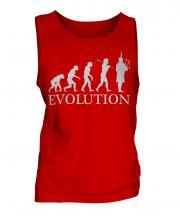 Bagpipes Player Evolution Mens Vest