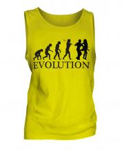 Salsa Dancing Evolution Mens Vest