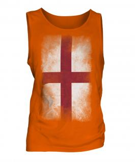 England St George Faded Flag Mens Vest