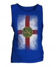 Alderney Faded Flag Mens Vest