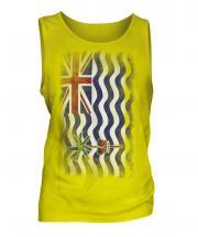 British Indian Ocean Territory Faded Flag Mens Vest