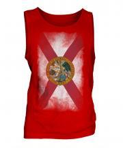 Florida State Faded Flag Mens Vest