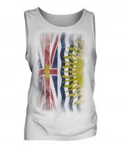 British Columbia Faded Flag Mens Vest