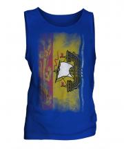 New Brunswick Faded Flag Mens Vest