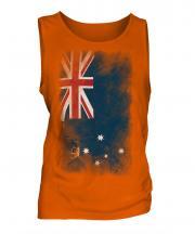 Victoria Faded Flag Mens Vest