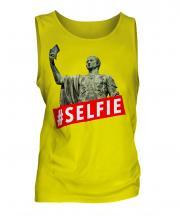 Gaius Julius Caesar Hashtag Selfie Mens Vest