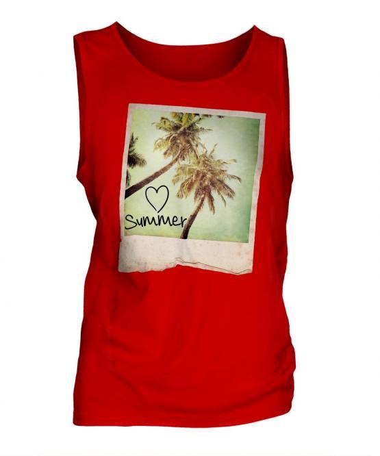 I Love Summer Mens Vest