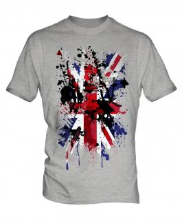Union Jack Abstract Print Mens T-Shirt