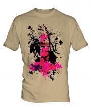 Grunge Cross Mens T-Shirt