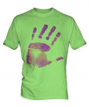 Hand Print Mens T-Shirt