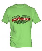 Love Life Mens T-Shirt