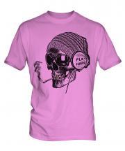 Play Hard Skull Mens T-Shirt