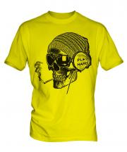 Play Hard Skull Mens T-Shirt