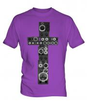Speaker Cross Mens T-Shirt