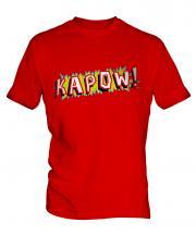 Comic Kapow Mens T-Shirt