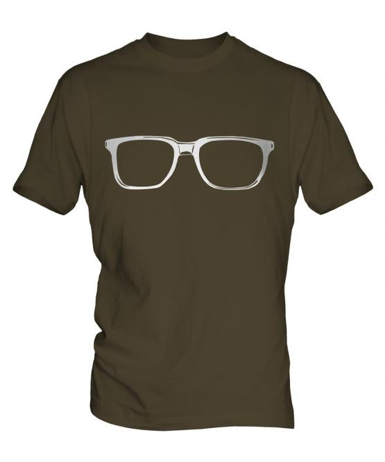 Geek Glasses Mens T-Shirt