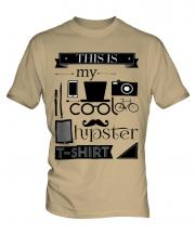 This Is My Cool Hipster T-Shirt Mens T-Shirt