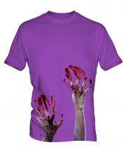 Zombie Hands Mens T-Shirt