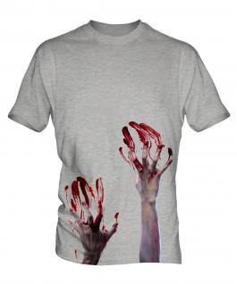 Zombie Hands Mens T-Shirt