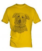 Aidi Sketch Mens T-Shirt