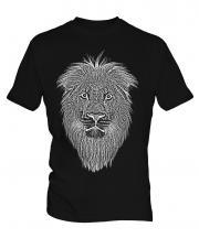 Lion Sketch Mens T-Shirt
