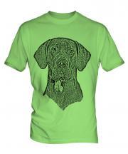 Great Dane Sketch Mens T-Shirt