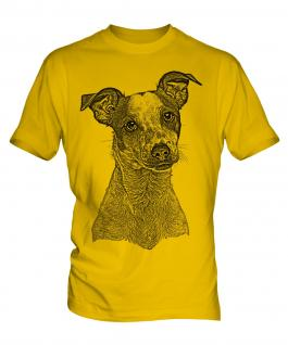 Jack Russell Terrier Sketch Mens T-Shirt
