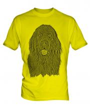 Newfoundland Sketch Mens T-Shirt
