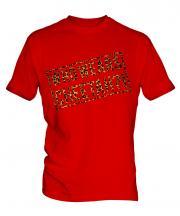 Who Wears Cheetah?! Mens T-Shirt