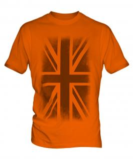 Union Jack Faded Print Mens T-Shirt