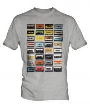 Retro Cassette Tapes Mens T-Shirt